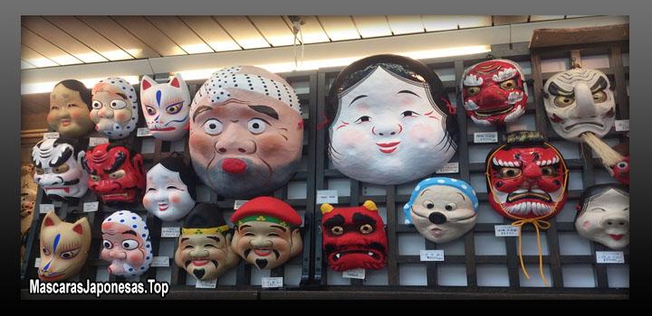 mascaras japonesas informacion