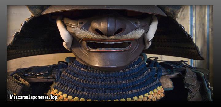 mascaras samurai